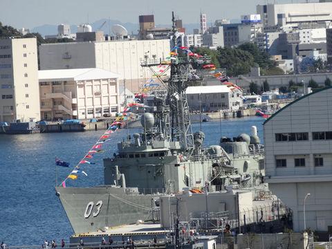 オーストラリア海軍FFG03 シドニー